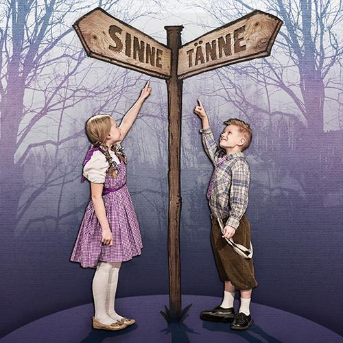 Liisan ihmemaassa - muuttuva tarina -näytelmän juliste.